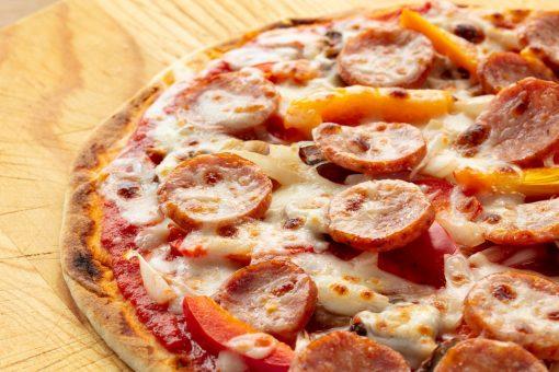 Andouille Sausage Pizza Josef's Artisan Meats
