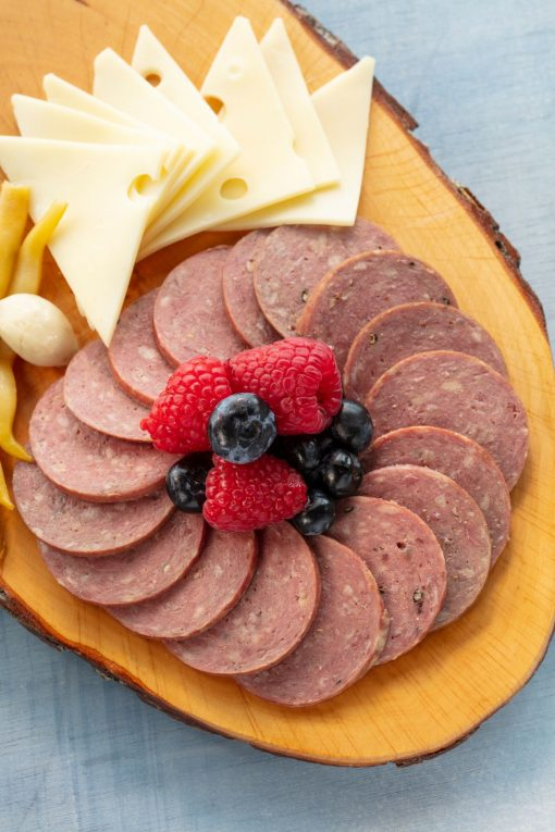 Prepped Beef Summer Sausage Charcuterie Josef's Artisan Meats