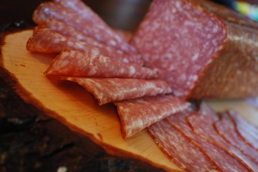 Sliced Brickyard Salami Josef's Artisan Meats