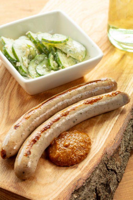 Prepped Finger Lakes Wine Sausage Josef's Artisan Meats