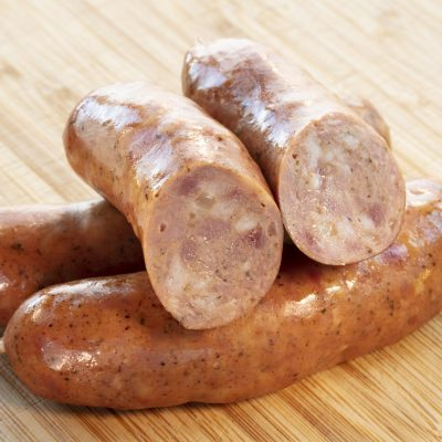 Unprepared Kase Krainer Sausage Josef's Artisan Meats