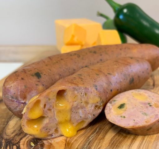 Jalapeno Cheddar Bratwurst Graphic Josef's Artisan Meats