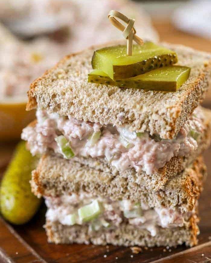 Ham Salad Sandwich Josef's Artisan Meats