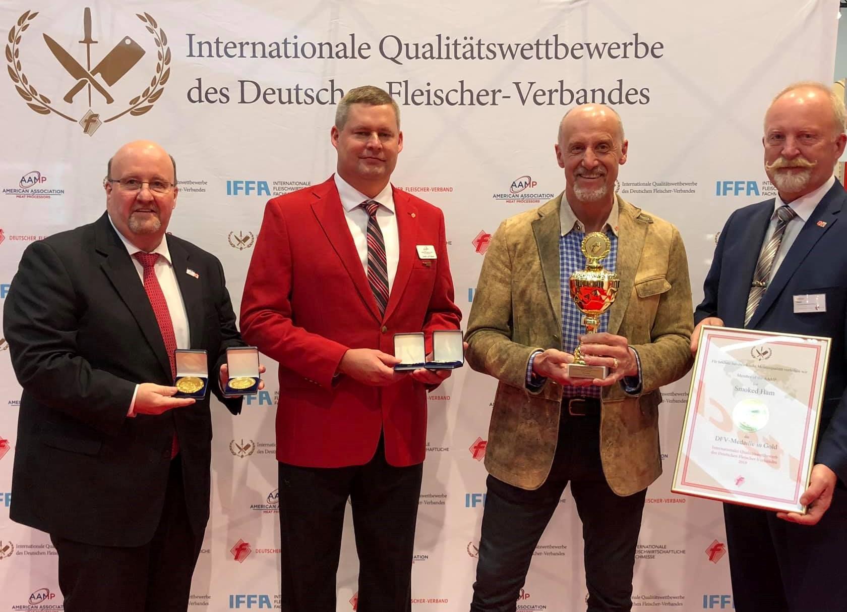 Josef with IFFA judges - 2019