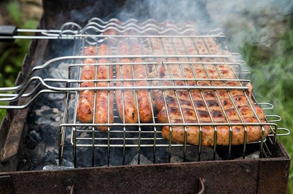 Battle of the Brats:  Frankfurter & Smoked Andouille Showdown